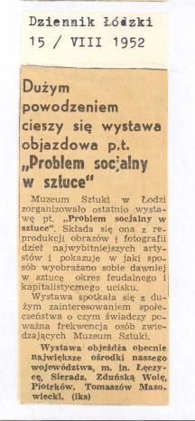 Dużym powodzeniem cieszy się wystawa objazdowa p.t.