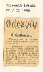 Odczyty o Grottgerze...