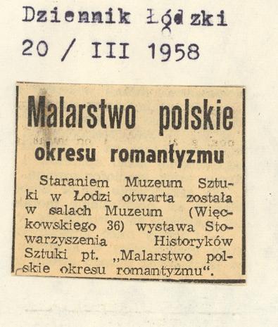 Malarstwo polskie okresu romantyzmu
