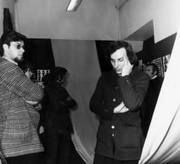 Z prawej na pierwszym planie Andrzej Lachowicz