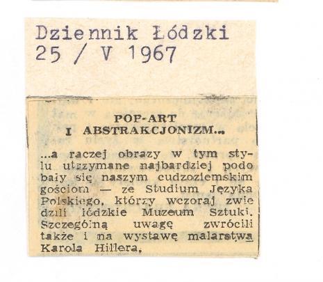 Pop -art i abstrakcjonizm...