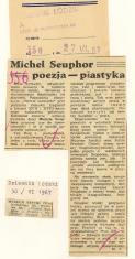 Michel Seuphor = poezja - plastyka