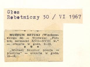 Muzeum Sztuki (ul.Więckowskiego 36) [...]