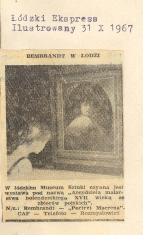 Rembrandt w Łodzi