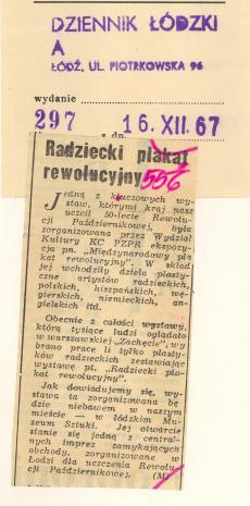 Radziecki plakat rewolucyjny