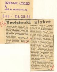 Radziecki plakat