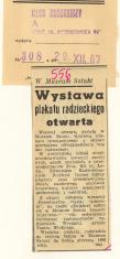Wystawa plakatu radzieckiego otwarta