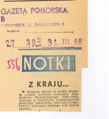 W Muzeum Sztuki w Łodzi otwarta została wystawa rysunków Władysława Strzemińskiego [...]