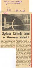 Wystawa Wilfredo Lama w Muzeum Sztuki