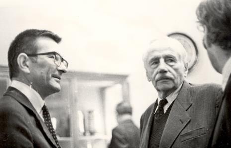 Z lewej T. Chróścicki