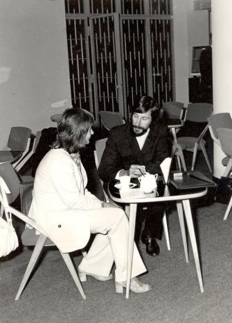 K. Selung i Norman Pegden (wicedyrektor ICOM)