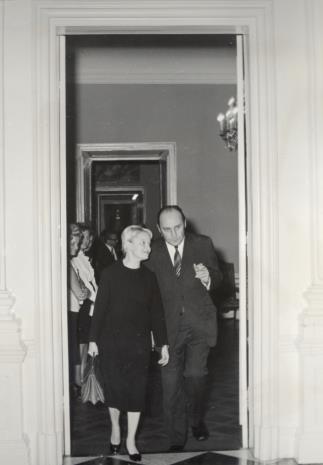 Dyr. Eugenia Georgijewskaja (Muzeum Puszkina w Moskwie), Minister Kultury i Sztuki Jan Kaczmarek