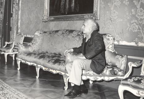Prof. Peter Howard Selz (dyrektor Uniwersyteckiego Muzeum Sztuki w Berkeley)