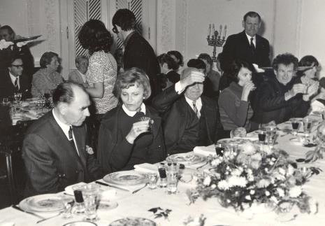 Od lewej W. Puszkariow, R. Hammacher