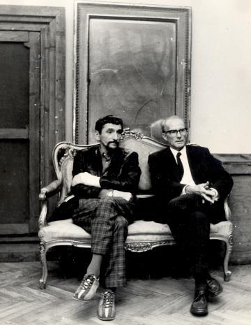 Artyści Benon Liberski i Roman Modzelewski