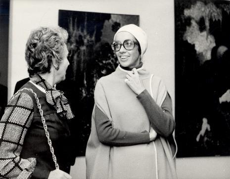 Ayala Zacks (Toronto) i Daniéle Giraudy (kustosz Muzeum Sztuk Pięknych w Marsylii)