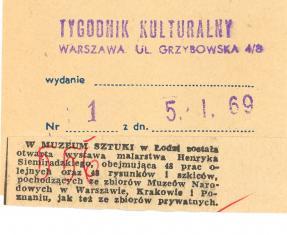 W Muzeum Sztuki w Łodzi została otwarta wystawa malarstwa Henryka Siemiradzkiego [....]