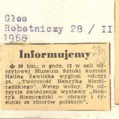 29 bm., o godz.12 w sali odczytowej Muzeum [...]
