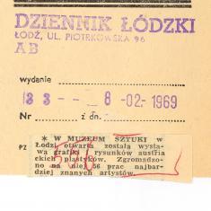W Muzeum Sztuki w Łodzi otwarta została wystawa [...]