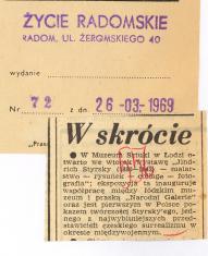 W Muzeum Sztuki w Łodzi otwarto [...]