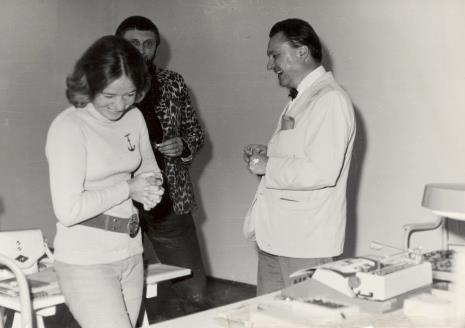 Janina Pierzgalska-Tworek, Ireneusz Pierzgalski, dyr. Thomas M. Messer (The Solomon Guggenheim Museum w Nowym Jorku)