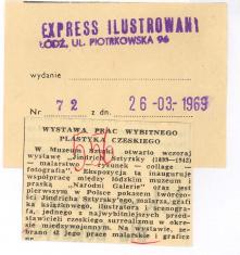 Wystawa prac wybitnego plastyka czeskiego