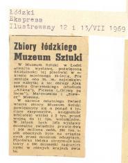 Zbiory łódzkiego Muzeum Sztuki