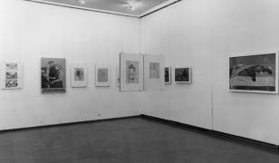 Artur Nacht-Samborski. Z pracowni artysty. Obrazy, szkice, rysunki, fotografie, dokumenty