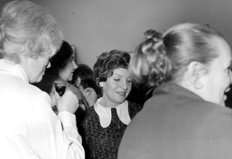 Halina Zawilska (bokiem), Wacława Nalichowska (sekretariat ms), Halina Grombczewska (inspektor techniczny ms)