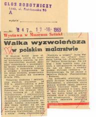 Walka wyzwoleńcza w polskim malarstwie