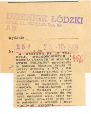 Łódzkie Muzeum Sztuki przygotowuje monograficzną Wystawę Henryka Stażewskiego. [...]