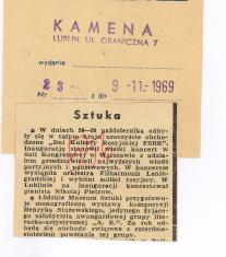 Łódzkie Muzeum Sztuki przygotowuje monograficzną wystawę kompozycji [...]