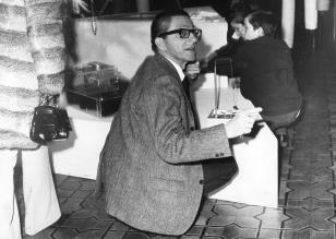 Dyr. Ryszard Stanisławski na otwarciu wystawy