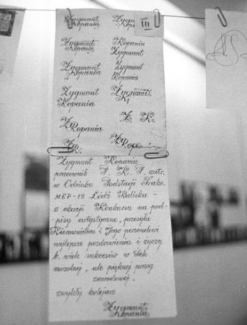 """""""Wystawa podpisów artystycznych"""