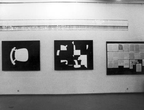 Ryszard Waśko, prace na wystawie WFF, 14.2.1973