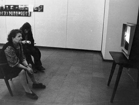 Projekcja pracy Andrzeja Różyckiego