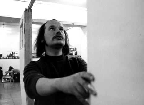 Antoni Mikołajczyk przy pracy