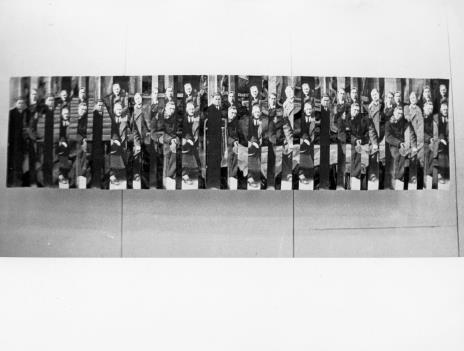 Praca Antoniego Mikołajczyka pokazana na wystawie WFF, 14.02.1973