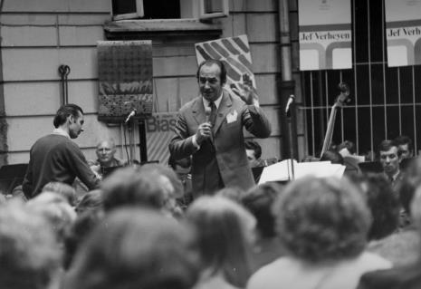 Koncert Orkiestry Dętej Garnizonu M. Łodzi pod dyr. majora Tadeusza Cytryńskiego z udziałem solistów