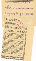 Dyrektor estońskiego Muzeum Sztuki przybył do Łodzi