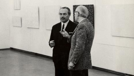 Ryszard Brudzyński (wicedyrektor ms) w rozmowie z Konstantym Mackiewiczem
