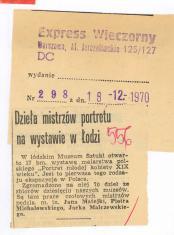 Dzieła  mistrzów portretu na wystawie w Łodzi