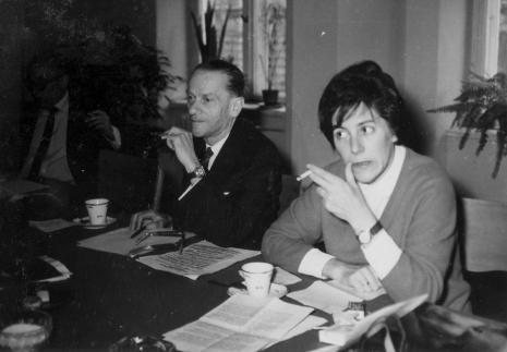 Red. Roman Janisławski (PAP) i red. Krystyna Tamulewicz (Polskie Radio)