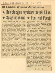 Rewelacyjna wystawa sztuki XX w. [...]