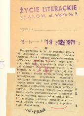 Przypadającą w br. 70 rocznicę śmierci Aleksandra Gierymskiego [...]