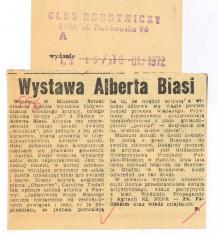 Wystawa Alberta Biasi