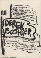 [Zaproszenie] Derek Boshier. Obrazy, rysunki, fotografie z lat 1962 - 1979 [...]