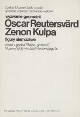 [Zaproszenie] wyzwanie geometrii. Oscar Reutersvärd, Zenon Kulpa. figury niemożliwe [...]
