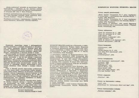 [Folder] Zygmunt Krauze