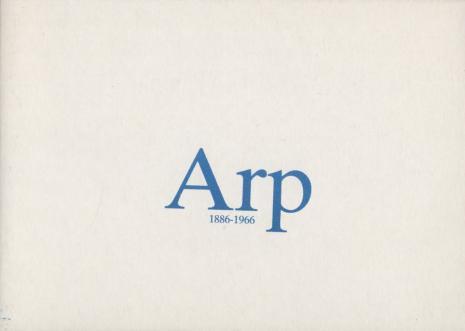 [Zaproszenie] Arp 1886 - 1966 malarstwo, rzeźba, rysunek [...]